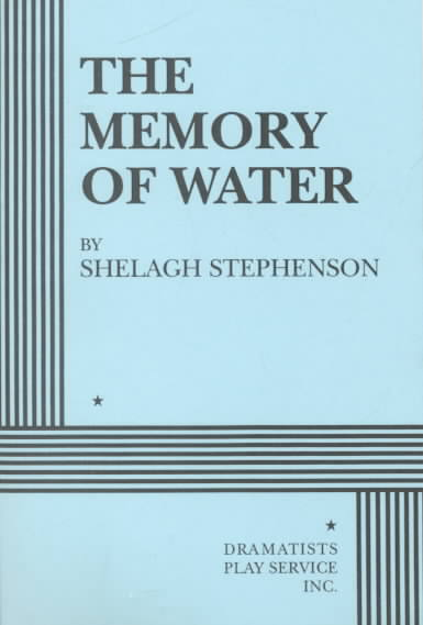 The Memory of Water By Stephenson, Shelagh